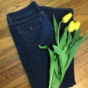 Gap Curvy Stretch Bootcut Jeans with Button Pocket